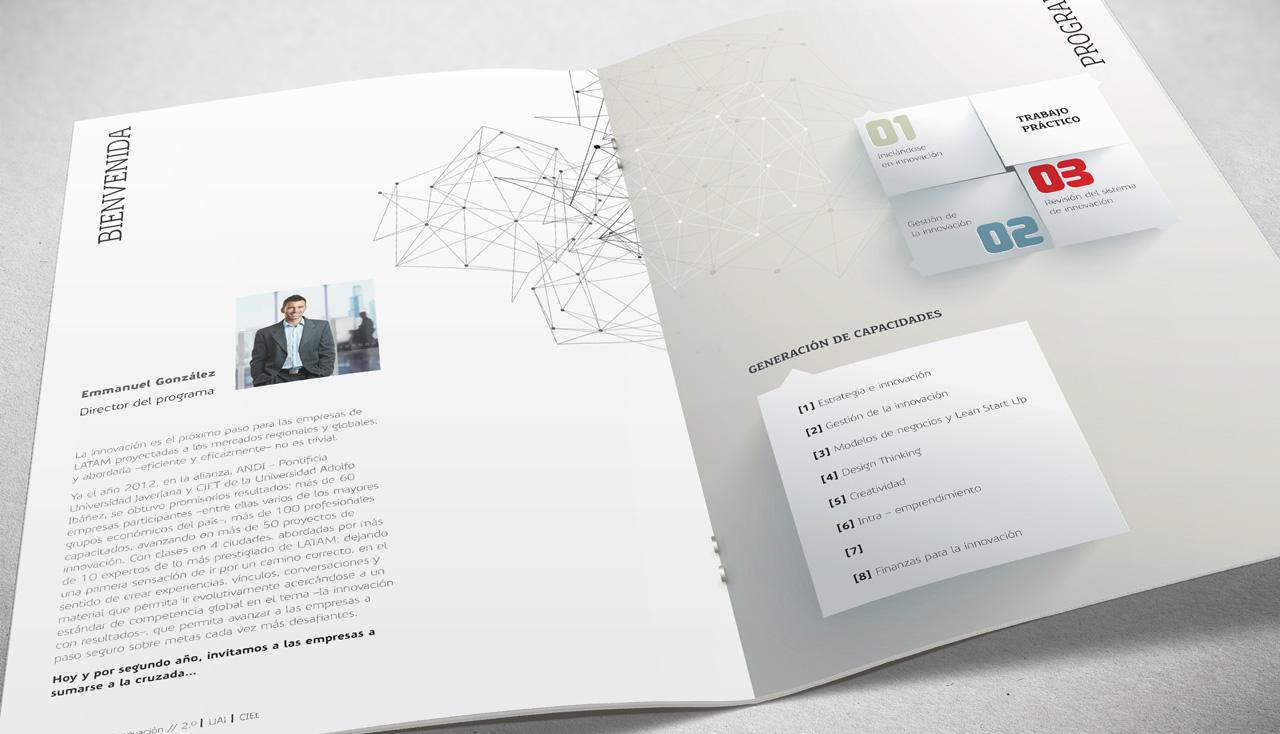 Brochure Gestión de la Innovación CIEt UAI