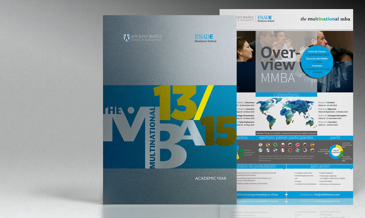 Overview para el programa Multinational MBA AISM / ESADE, 2014