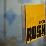 Señalética Tienda Rush