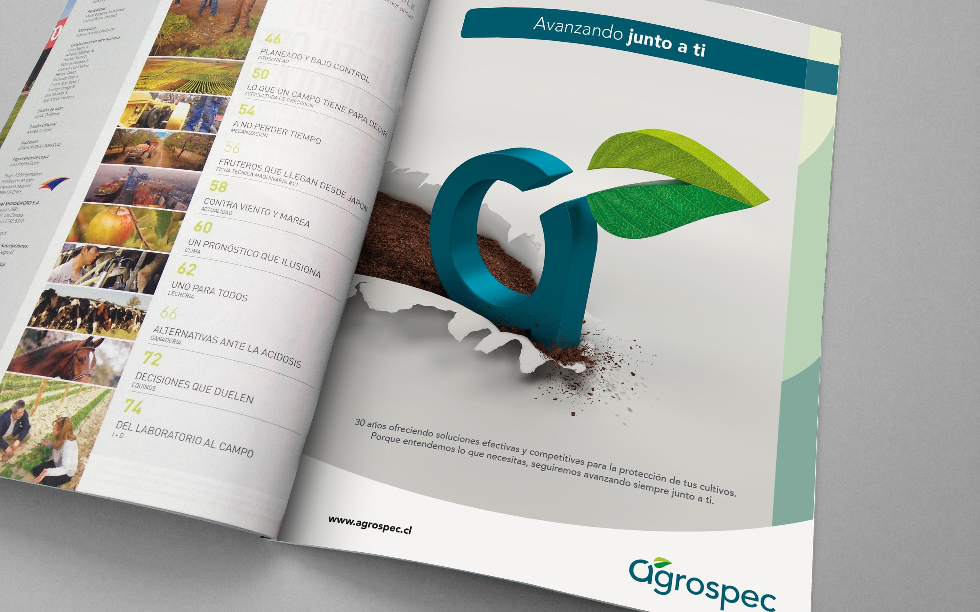 Campaña Corporativa Agrospec 2016 / 17